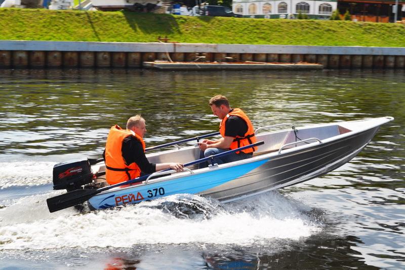 производство лодок рейд