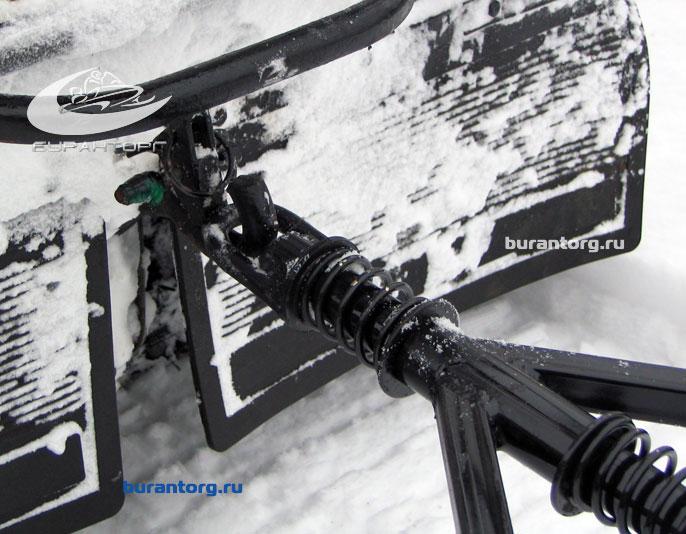 Буран фаркоп своими руками
